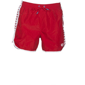 arena Team Stripe Costume A Pantaloncino Uomo, red/white/red